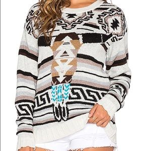 Jen's Pirate Booty sitting bull sweater NWT